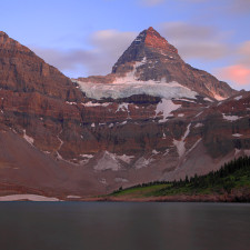 mount assiniboine twilight