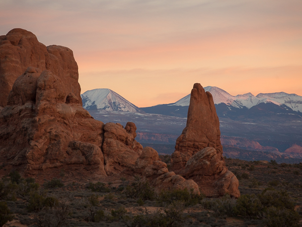 Twilight, Arches National Park