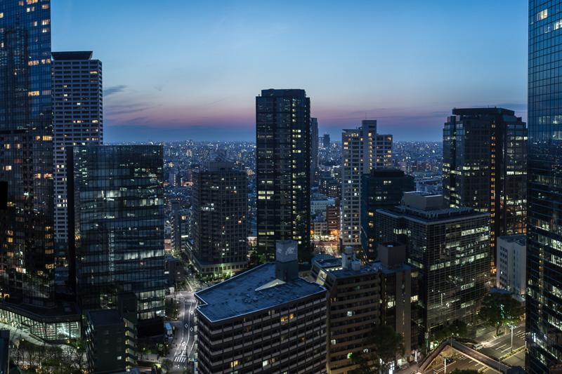 Hilton Tokyo view