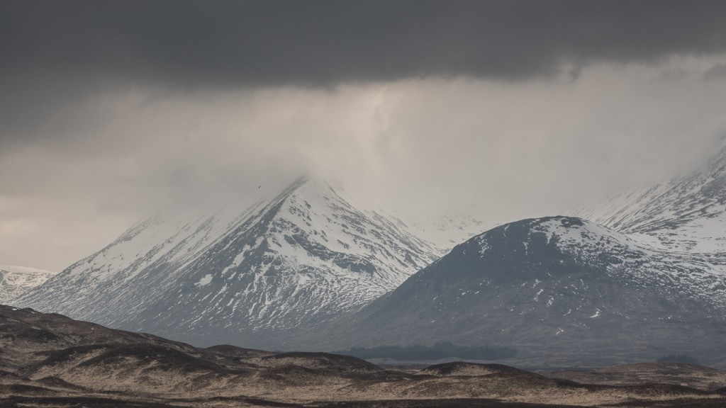 Scottish Highlands, winter