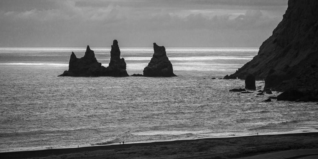 Seastacks along the coast road
