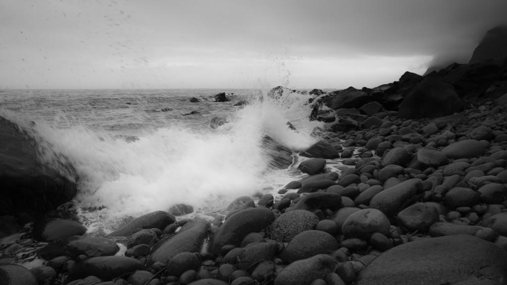 Rocky coast, Lofoten Islands