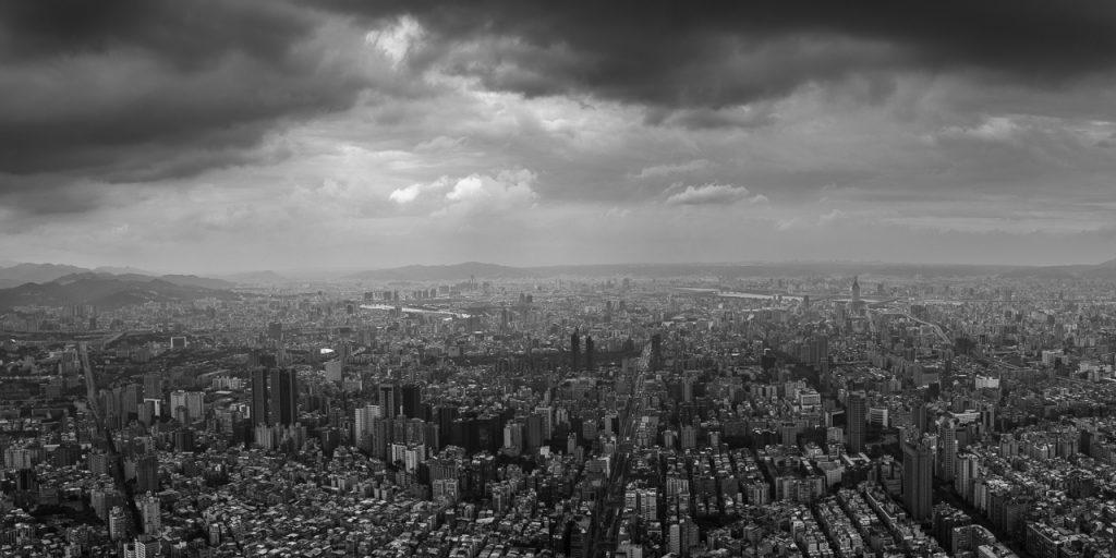 Taipei from Taipei 101