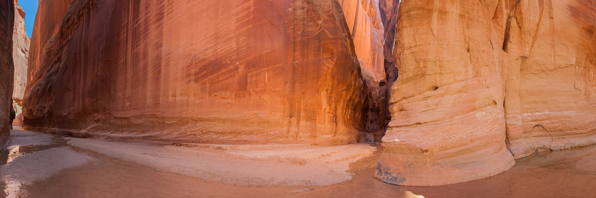 confluence of paria canyon and buckskin gulch